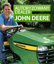 Jesteśmy autoryzowanym dealerem maszyn marki John Deere