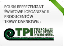 Polski reprezentant światowego związku Producentów Trawy Darniowej - TPI