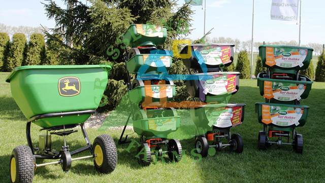 Sprzęt ogrodniczy, aerator, rozsiewacz nawozu, rozrzutnik nawozu, trawa z rolki, maszyny do trawy, Grasslandfarms